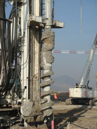 Displacement Piles | Soilmec S.p.A.